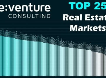 Reventure Consulting Top 25 Market for Real Estate